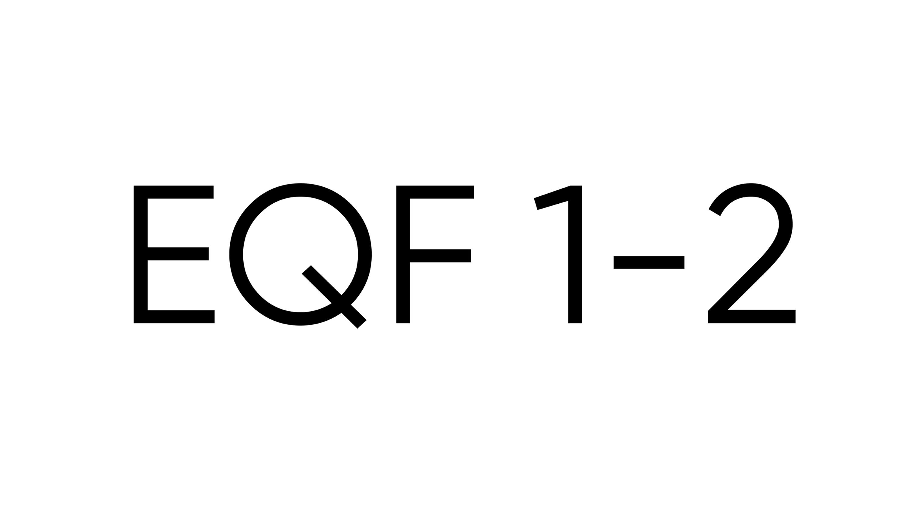Початковий рівень EQF 1-2