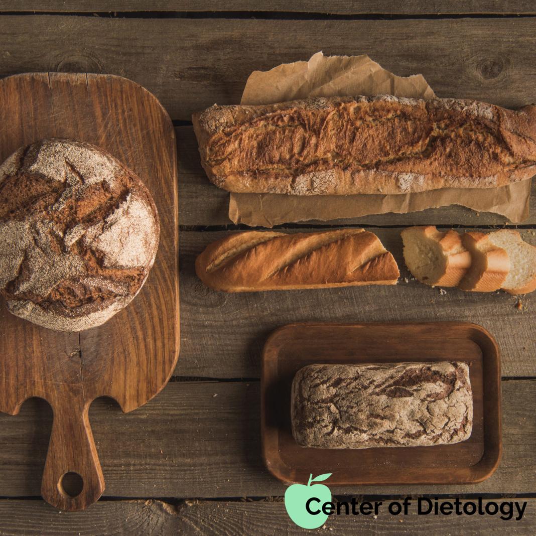 Цільнозерновий хліб VS Звичайний 🍞